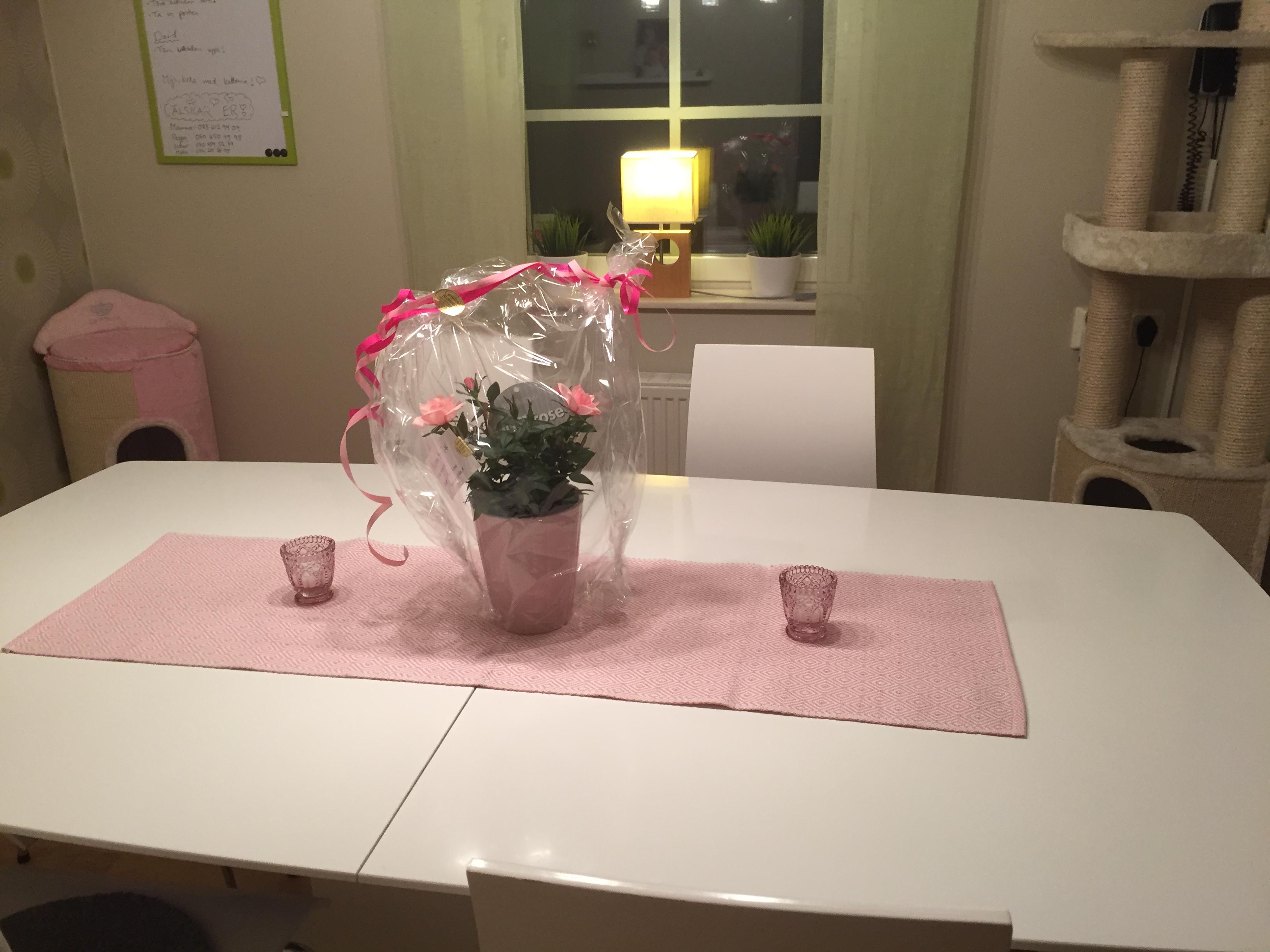Underbar blomma från min kusin med familj. ❤️