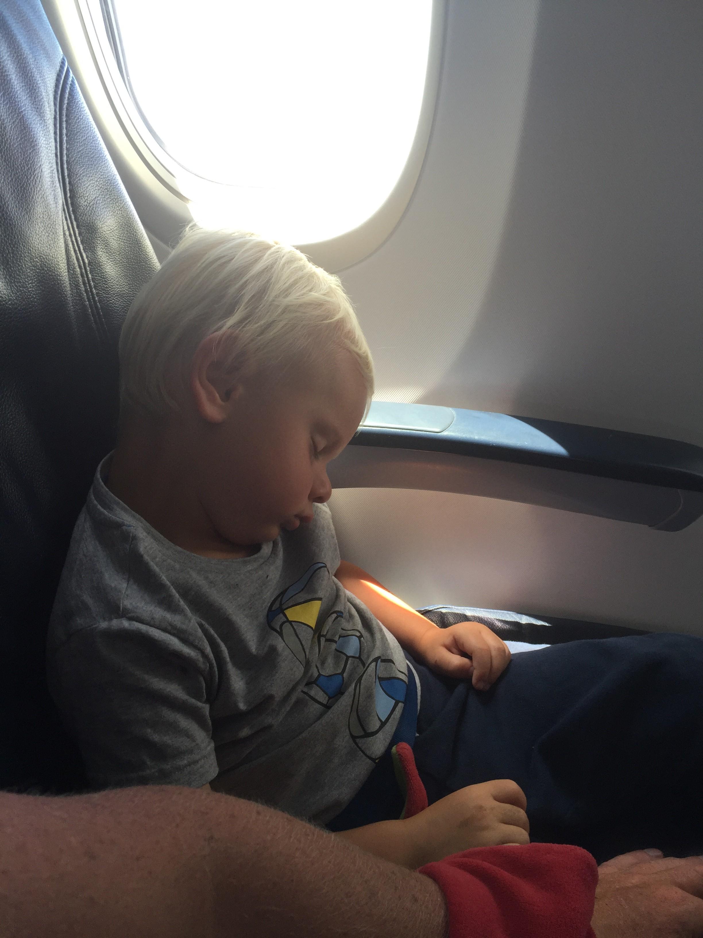 Kevin sov en timme