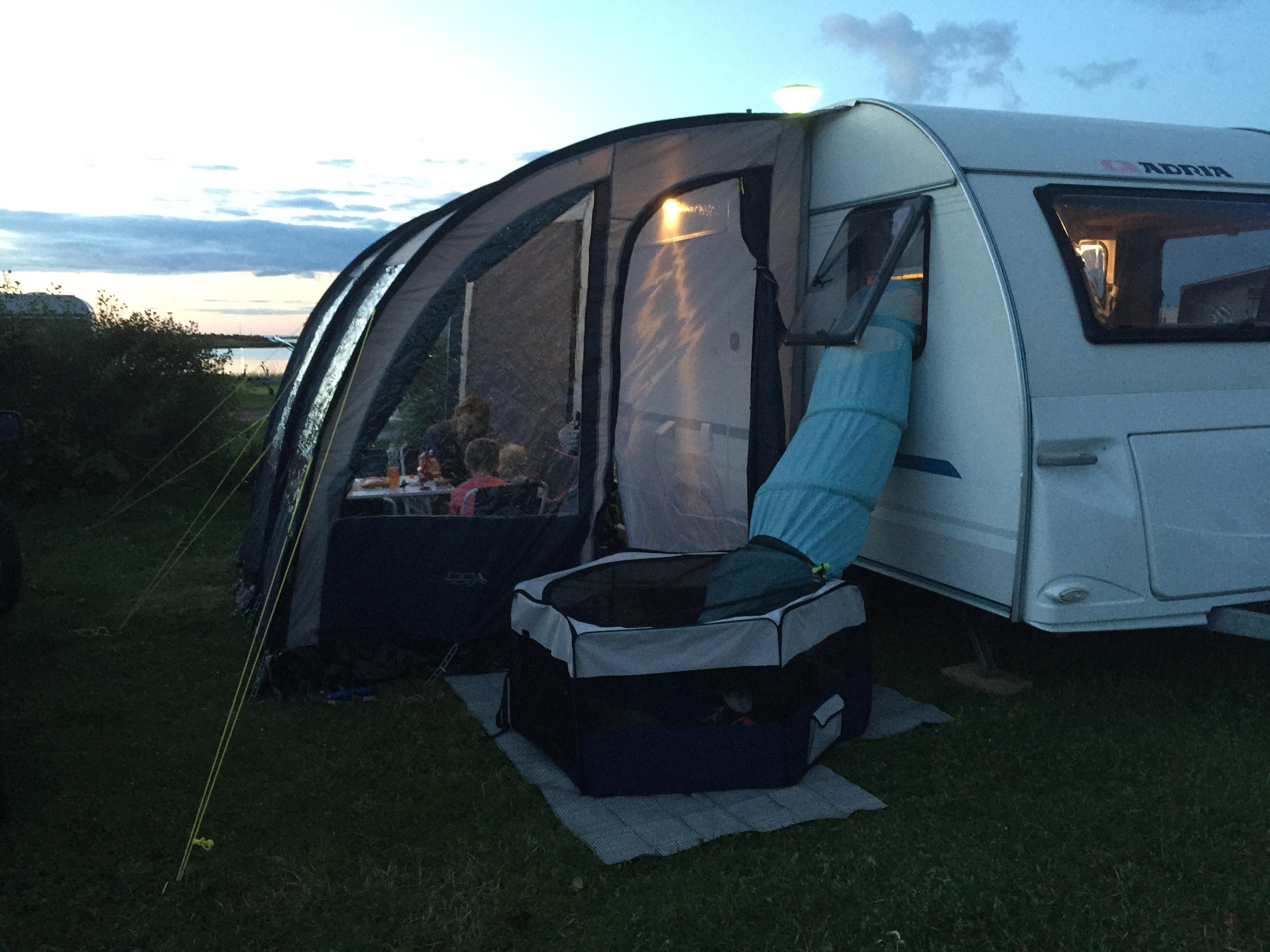 Camping på Öland