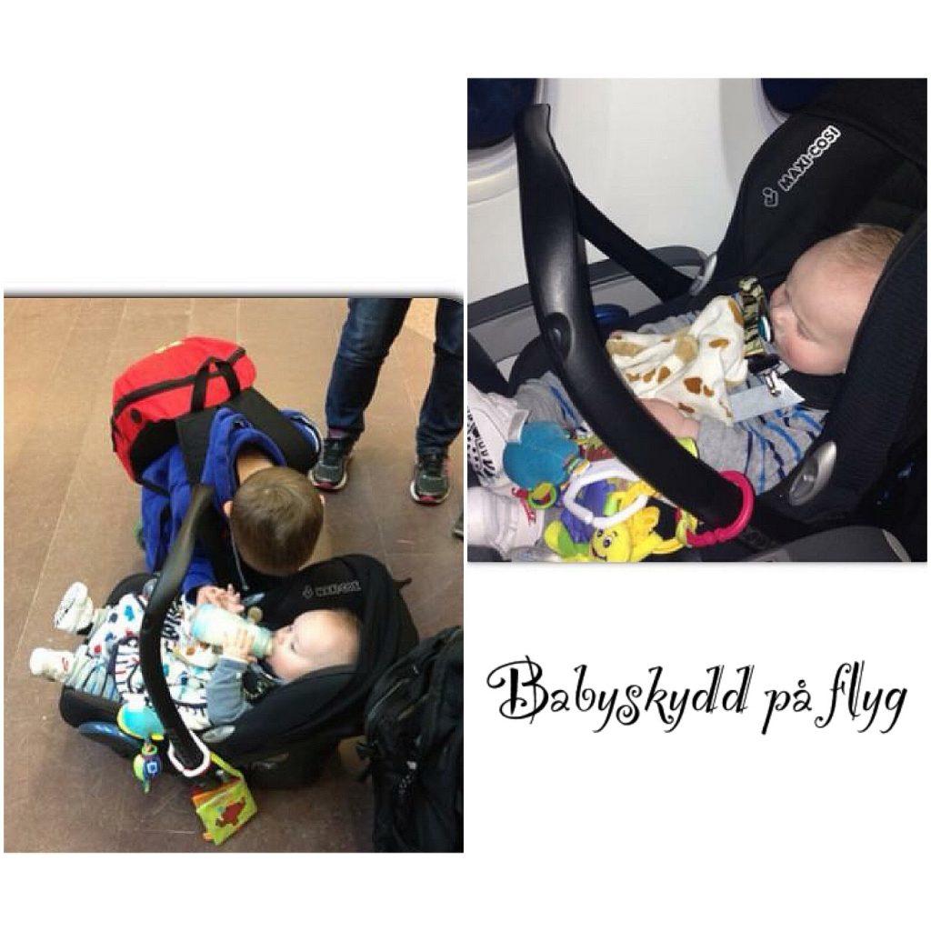 Babyskydd på flyg
